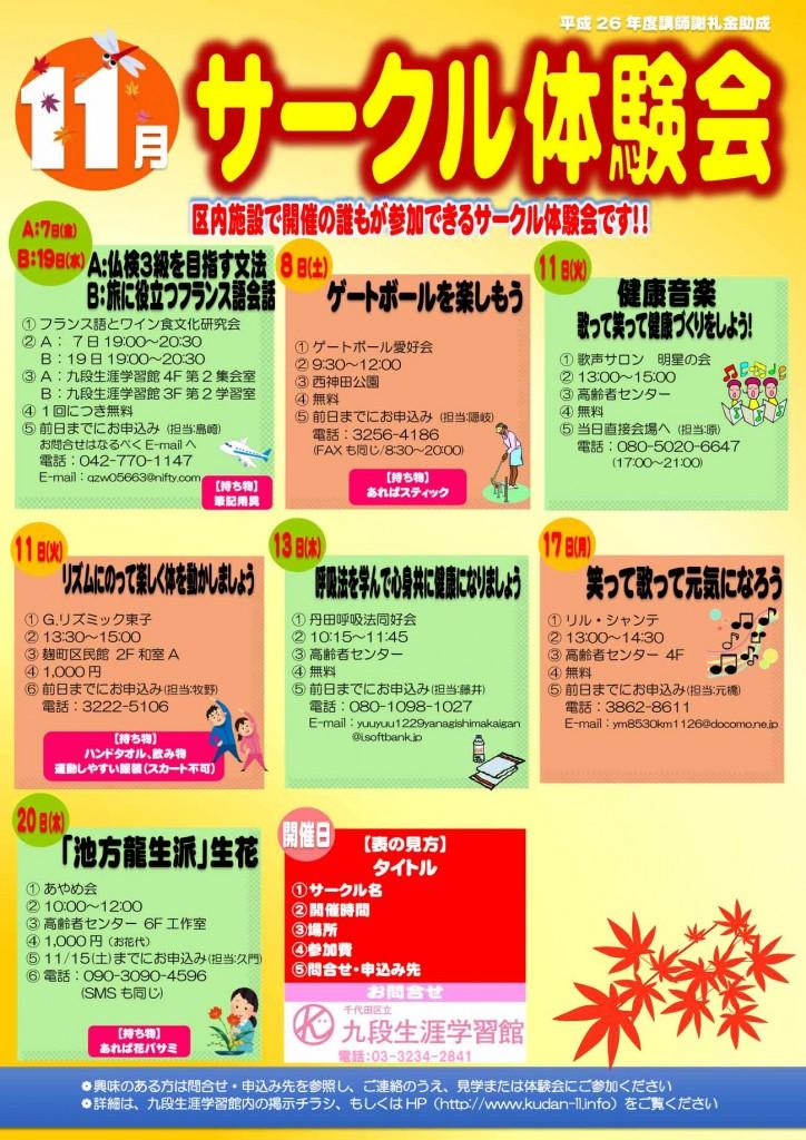 11月開催分ポスター(最終)